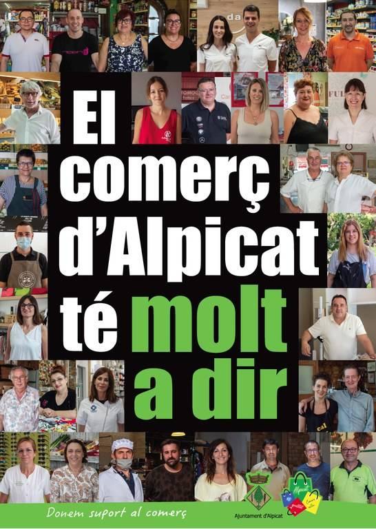 L'Ajuntament posa en marxa la campanya 'El comerç d'Alpicat té molt a dir' per donar visibilitat al comerç local