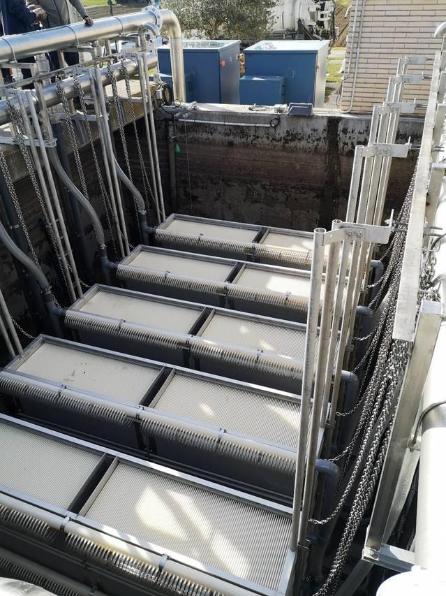 L'Agència Catalana de l'Aigua incrementa la capacitat de tractament de la depuradora d'Alcarràs
