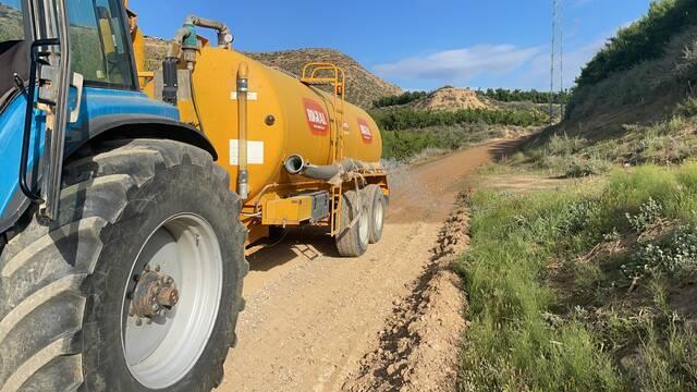 L'Ajuntament d'Aitona invertirà enguany 226.000€ en la millora i arranjament dels camins municipals