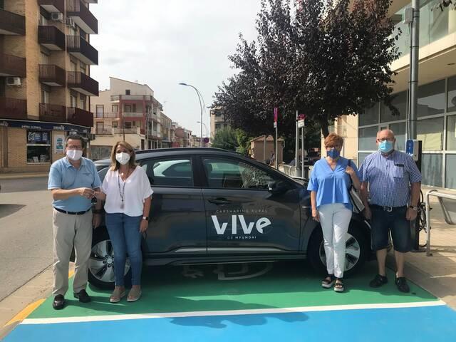 L'Ajuntament d'Aitona posa a disposició de veïns i veïnes, gratis, un cotxe elèctric