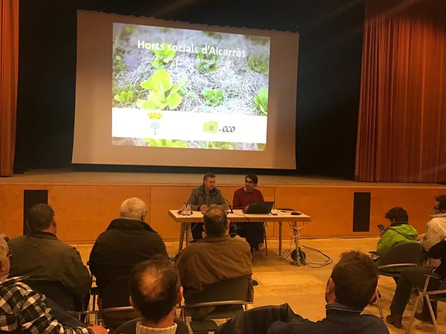 L'Ajuntament d'Alcarràs obre els horts municipals a tota la població i els dinamitzarà amb diferents tipus d'activitats