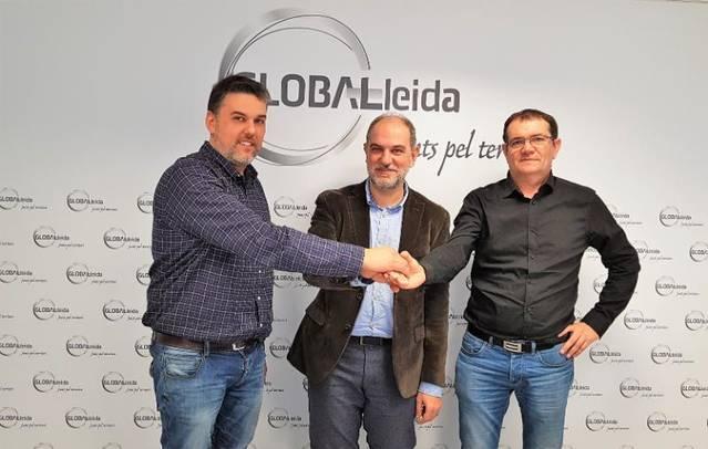 L'Ajuntament d'Alfarràs i GLOBALleida firmen un acord de col·laboració