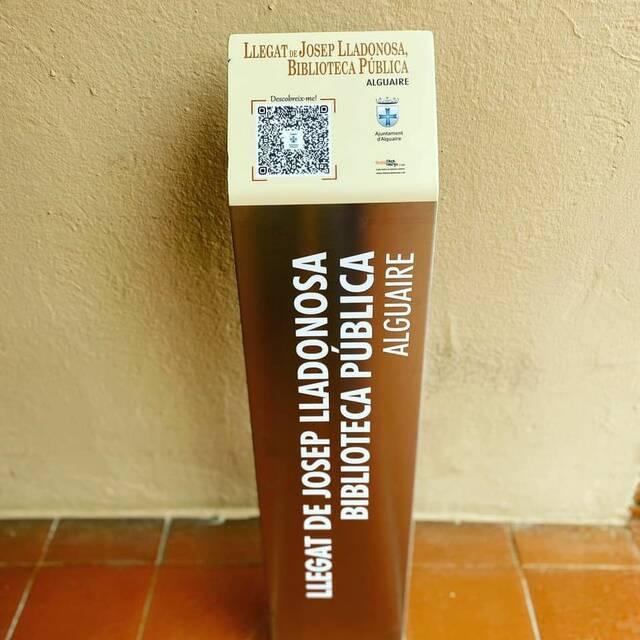 L'Ajuntament d'Alguaire instal·la 8 faristols amb informació històrica sobre diferents indrets del poble