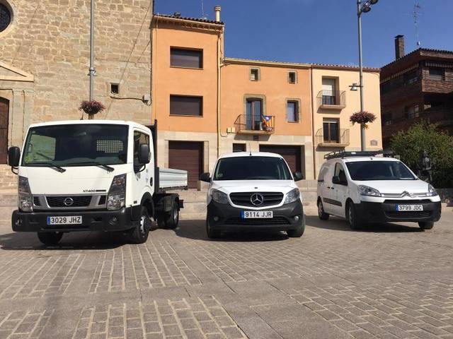 L'Ajuntament d'Almacelles amplia el seu parc mòbil