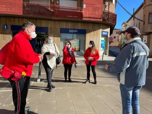 L'Ajuntament d'Almacelles i la Creu Roja es mobilitzen davant l'alarmant increment de contagis de la Covid 19