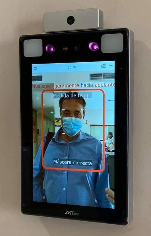 L'Ajuntament d'Almacelles instal·la detectors de temperatura corporal i d'identificació facial