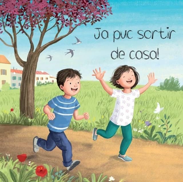 L'Ajuntament d'Almenar edita un conte per fer més comprensible el confinament als infants del poble