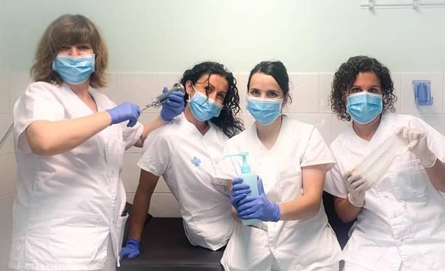 L'Ajuntament d'Almenar felicita les infermeres i infermers del CAP en el seu dia mundial