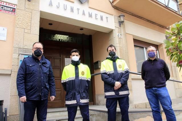 L'Ajuntament d'Alpicat contracta dos nous agents municipals com a funcionaris en pràctiques