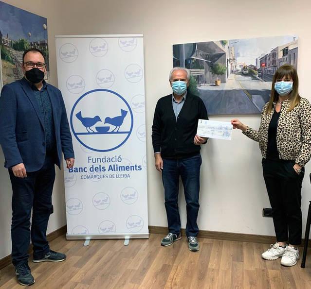 L'Ajuntament d'Alpicat dona al Banc d'Aliments de Lleida 1.246 euros provinents de la recaptació de Circ Picat