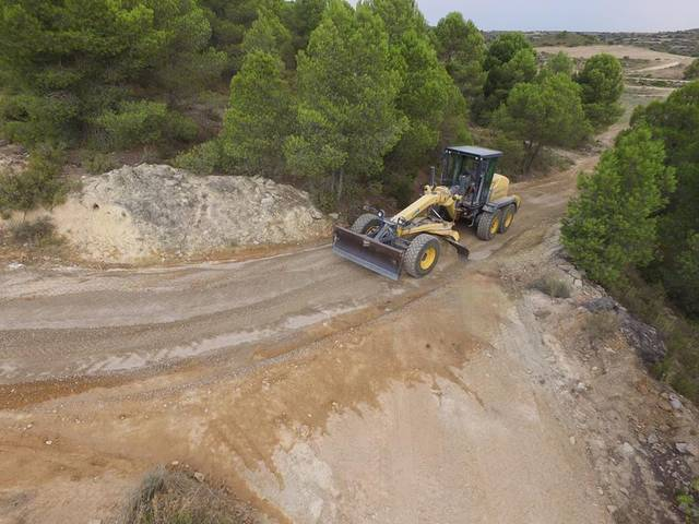 L'Ajuntament de Llardecans millora la xarxa de camins del municipi