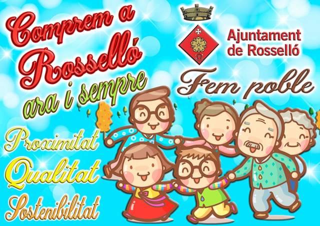 L'Ajuntament de Rosselló fa campanya en favor del comerç local
