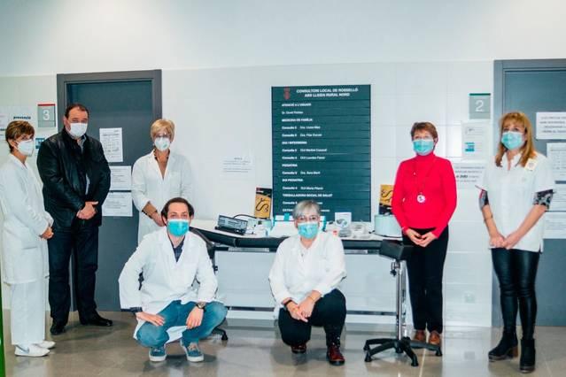 L'Ajuntament de Rosselló inverteix 3.000 euros en equipar el consultori mèdic