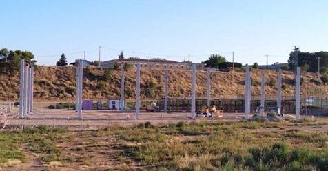 L'Ajuntament de Rosselló preveu tenir enllestida la primera fase del poliesportiu al setembre