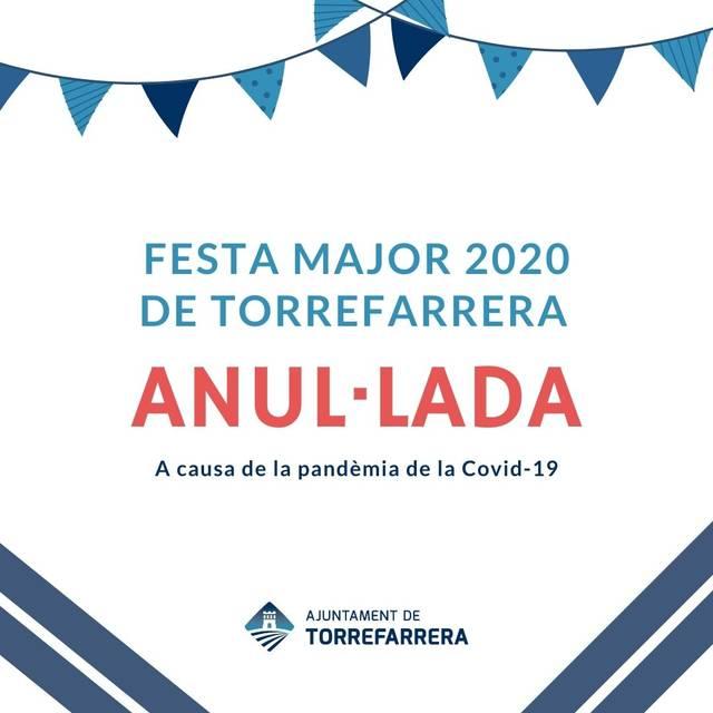 L'Ajuntament de Torrefarrera anul·la la Festa Major de setembre per la Covid 19