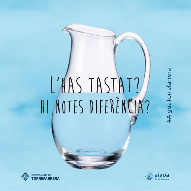 L'Ajuntament de Torrefarrera promou l'aigua de l'aixeta per beure