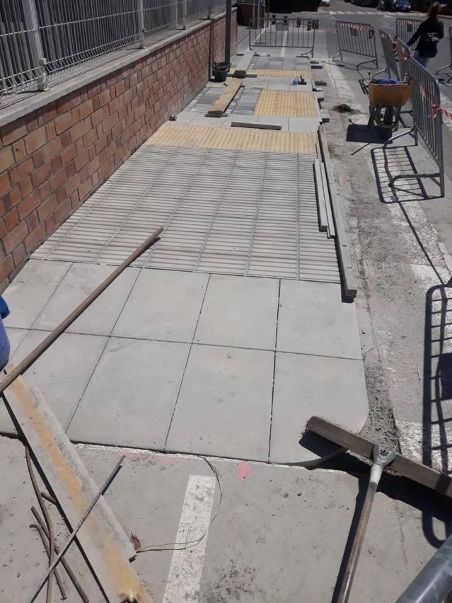 L'Ajuntament de Torrefarrera realitza obres de millora de l'accessibilitat en diferents indrets de la localitat