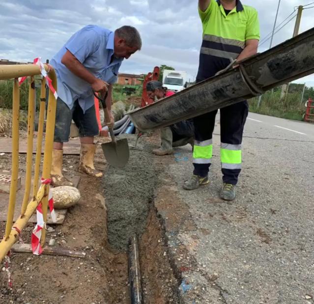 L'Ajuntament de Vilanova de Segrià porta la fibra òptica a una urbanització amb més de 200 veïns i veïnes