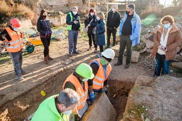 L'Ajuntament inicia una nova excavació arqueològica al Castell d'Aitona