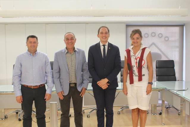 L'alcalde d'Alcarràs es reuneix amb el subdelegat del Govern a Lleida
