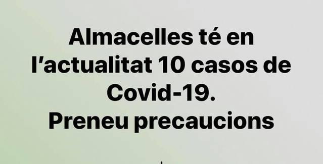 L'alcalde d'Almacelles exigeix un confinament del Segrià més sel·lectiu i adverteix que 200 establiments del poble hauran de tancar