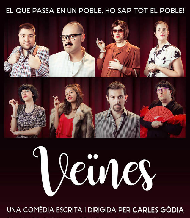 """L'obra """"Veïnes"""", del grup Bao-Bap Teatre, tancarà demà la VII Setmana Cultural d'Almenar"""