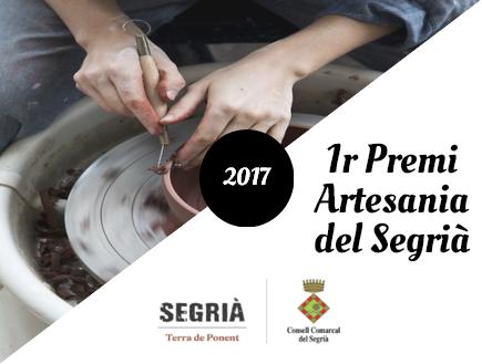 L'Àrea de Turisme del Consell Comarcal del Segrià convoca el 1r Premi d'Artesania del Segrià