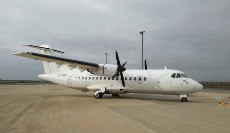 Lease-Fly Charter aterra a Alguaire