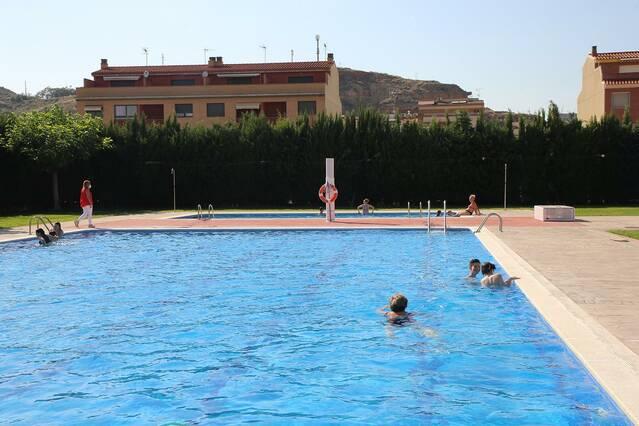 Les piscines d'Aitona obren el dissabte 19 de juny