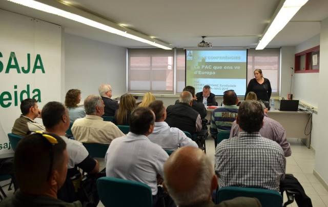 L'eurodiputada i membre de la Comissió d'Agricultura del Parlament Europeu, Esther Herranz, analitza la reforma de la PAC a ASAJA Lleida
