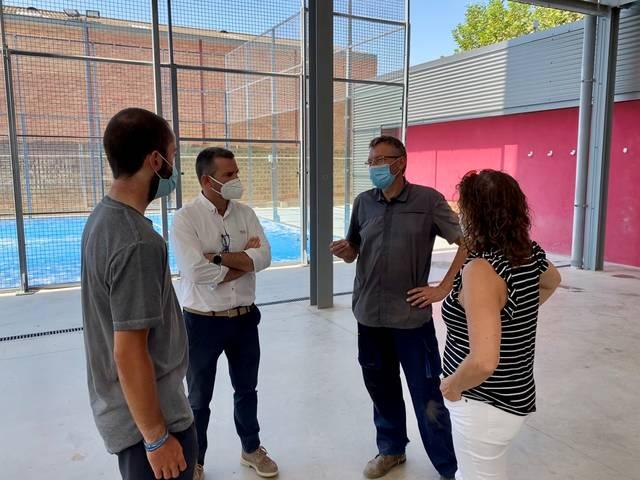 Lleida negocia l'ús de les instal·lacions esportives d'Artesa de Lleida per fer els entrenaments de diversos clubs lleidatans