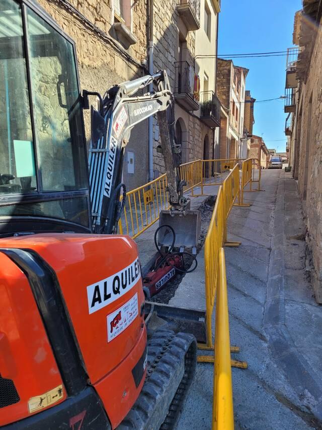 Maials inicia les obres de substitució del clavegueram d'un tram de la Travessia Trentaclaus