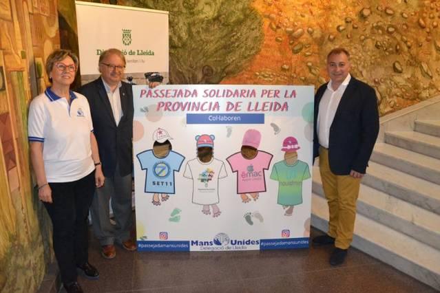 Mans Unides passejarà per 10 municipis de Lleida el 7 d'abril en la celebració del seu 60è aniversari