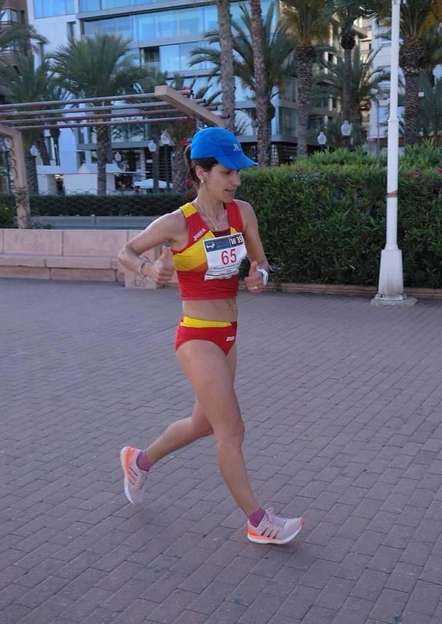 Marta Nogueira del Lleida U.A, 3a d'Europa de 20 km marxa de veteranes