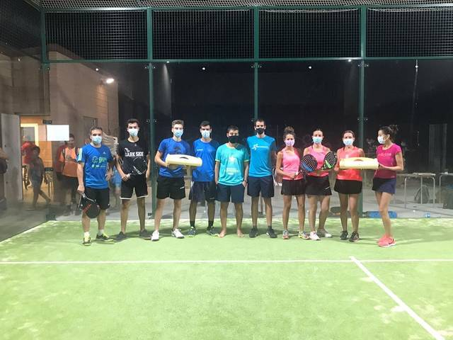 Massalcoreig celebra un exitós torneig de pàdel