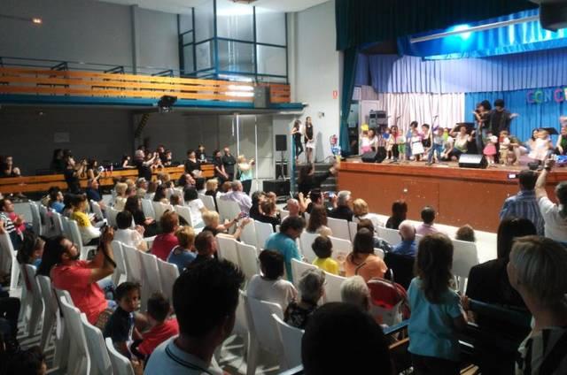 Més de 300 espectadors i 80 alumnes en el concert de final de curs de l'Escola Municipal de Música de Rosselló