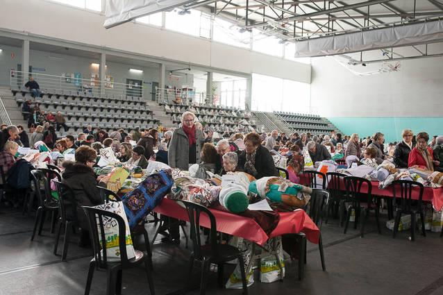 Més de 400 participants en la Trobada de Puntaires de Torrefarrera