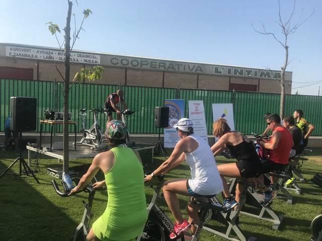 Mig centenar de participants al Cycling to the Limit d'Alpicat