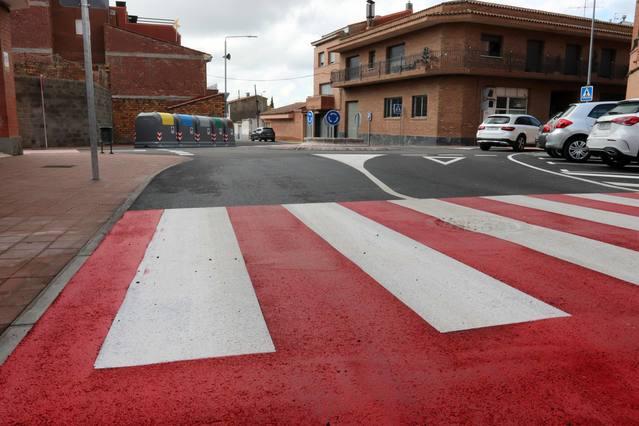 Millores als carrers del Doctor Fleming i de Joaquim Costa d'Alpicat
