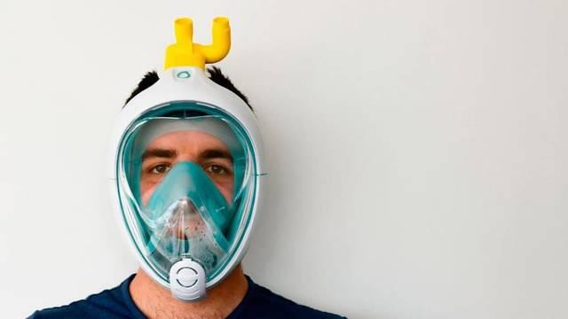Montoliu i Albatàrrec recullen mascaretes de busseig per protegir el personal sanitari