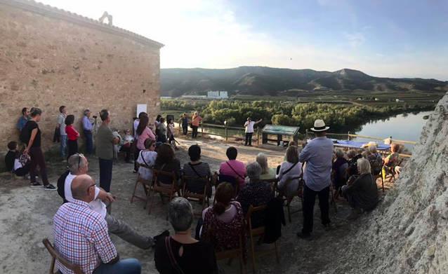 Música i il·luminació a l'Ermita de Sant Jaume de La Granja