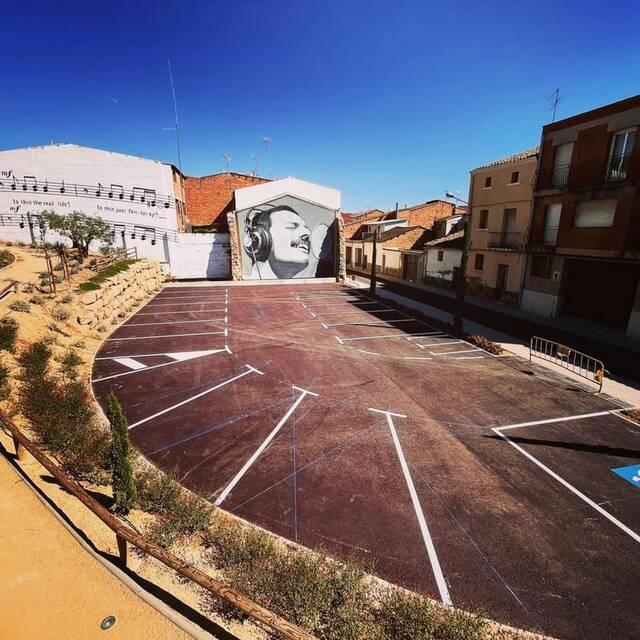 Nou aparcament públic i gratuït al centre d'Almacelles