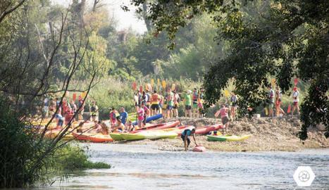 Nou descens de canoes al Baix Segre