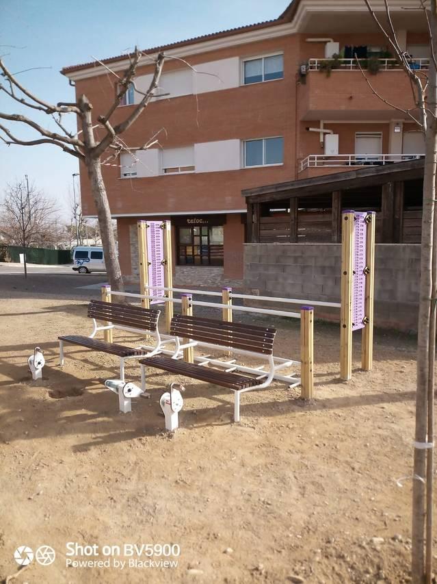 Nou parc biosaludable a Rosselló