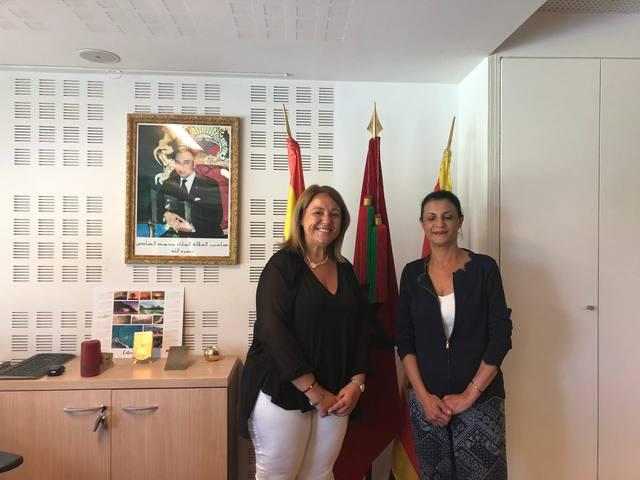 Nous llaços entre Aitona i el Marroc