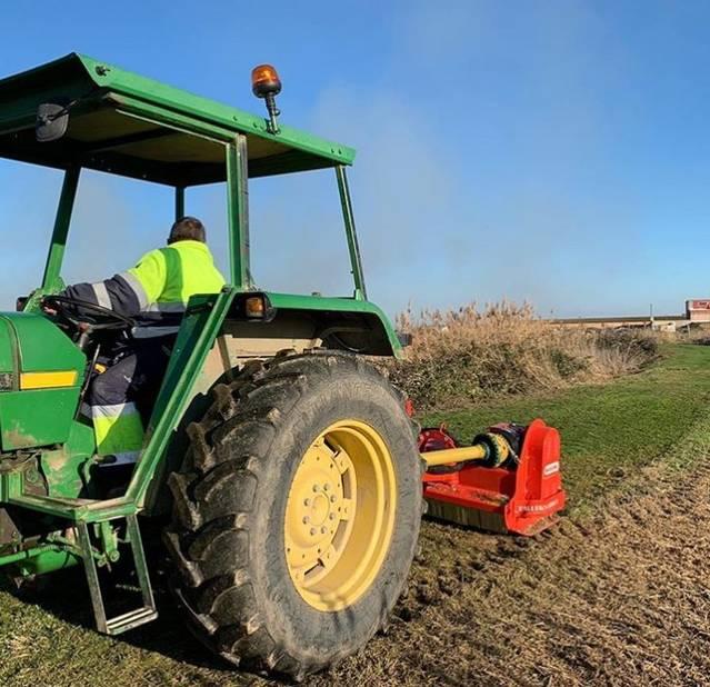 Vilanova de Segrià adquereix nova picadora d'herba