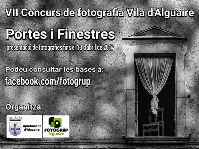 Obert el període de participació al VII Concurs de fotografia Vila d'Alguaire.