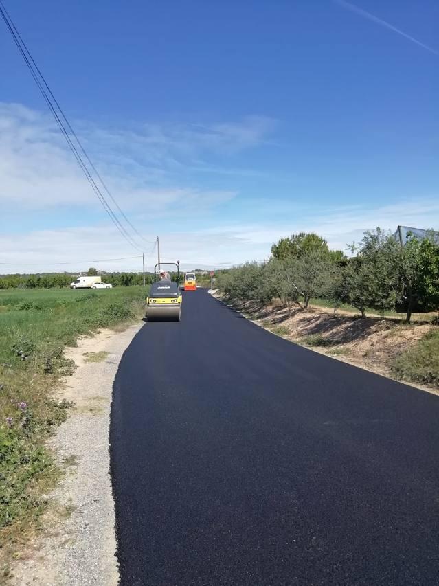 Obres de millora i condicionament del Camí del Pont de Puell