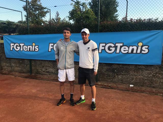Óscar Manciñeiras, jugador del CT Lleida, suma un nou punt ATP a l'ITF Futures de Vigo