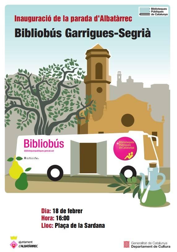 Presentació del nou servei de bibliobús a Albatàrrec